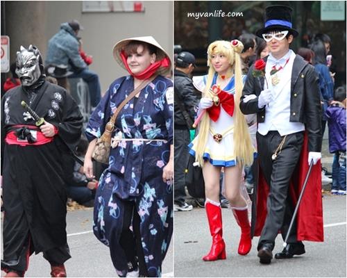blogJapanese styleVanHalliweenParade