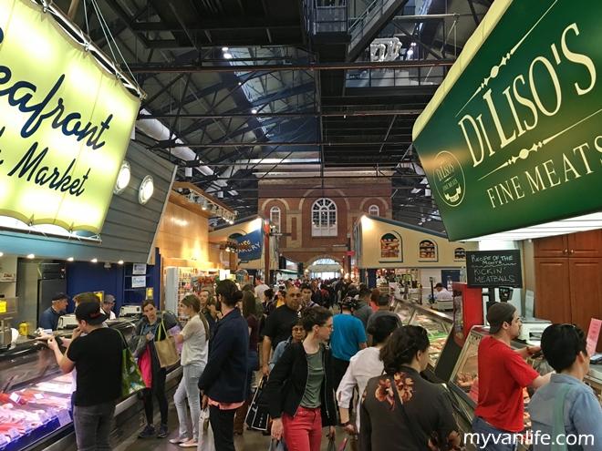 多倫多旅遊|最親民的庶民廚房,美食薈萃的聖羅倫斯市集