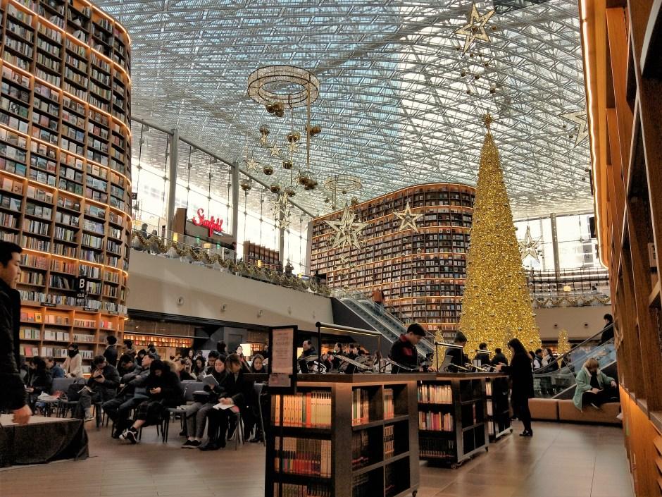 首爾旅遊星空圖書館