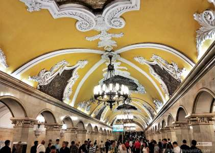 西伯利亞壯遊記|之二 奔馳在地底100公尺的藝術殿堂