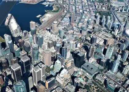 溫哥華旅遊|登上輕型飛機,盡享五千英呎高空的美景