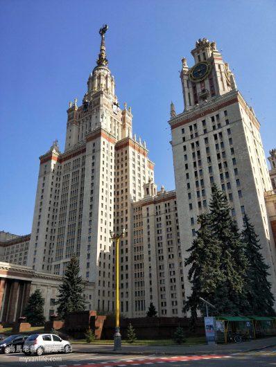 莫斯科旅遊建築之美史達林式建築風格七姐妹大樓
