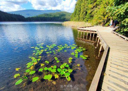 溫哥華旅遊|生命,就是要浪費在美好的Sasamat Lake