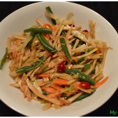Mandolin Kitchen Slicer Laminate Or Engineered Wood Flooring For Green Papaya Salad (thai Style) – My Vegan Space