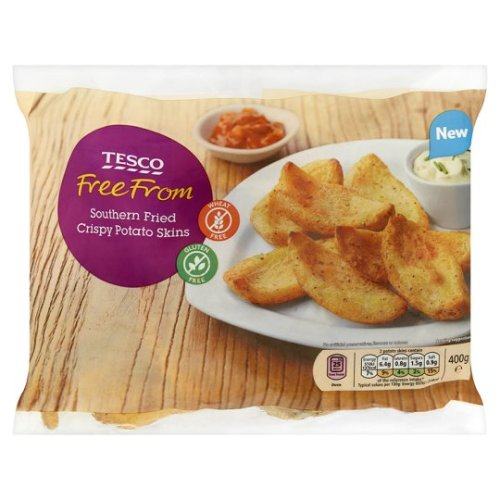 Tesco Free From Southern Fried Crispy Potato Skins 400G