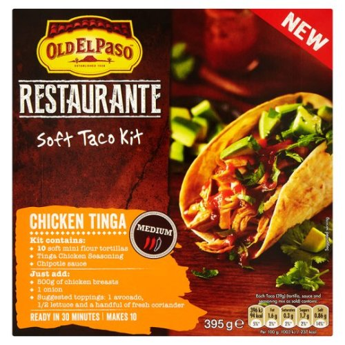 Old El Paso Chicken Tinga Kit