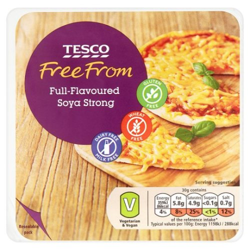 Tesco Free From Soya Strong 227G
