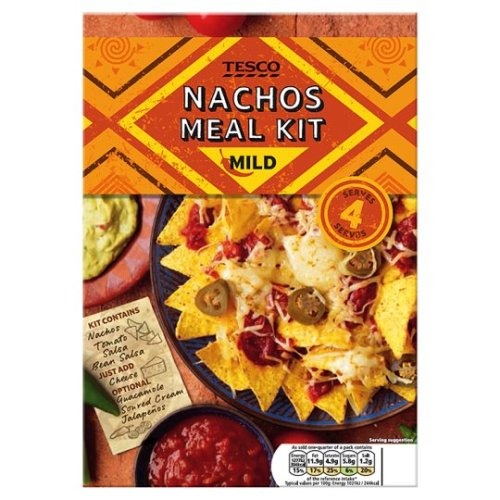 Tesco Nachos Meal Kit Mild
