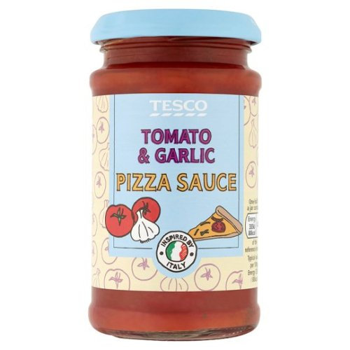 Tesco Tomato Garlic Pizza Topper 200G