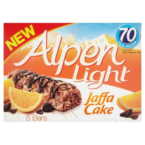 Alpen Light Jaffa Cake 5 Pack 95G