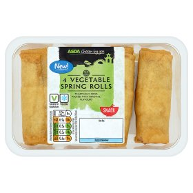 ASDA Chosen by You 4 Vegetable Spring Rolls