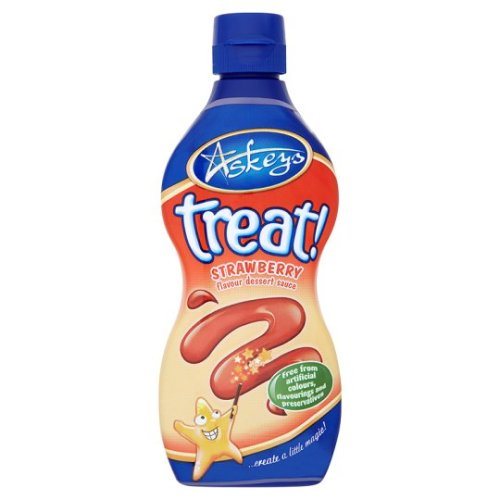Askeys Treat Strawberry Sauce 325G