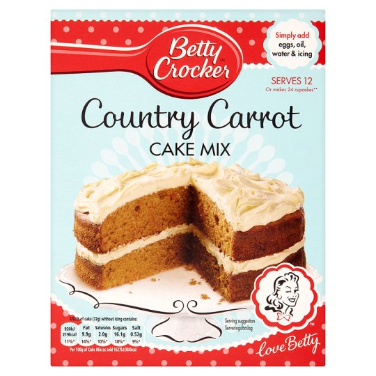 Asda Betty Crockers Cake Mix