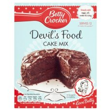 Betty Crocker S Devils Food Cake Mix Asda