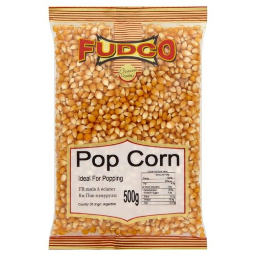 Fudco Popping Corn 500g