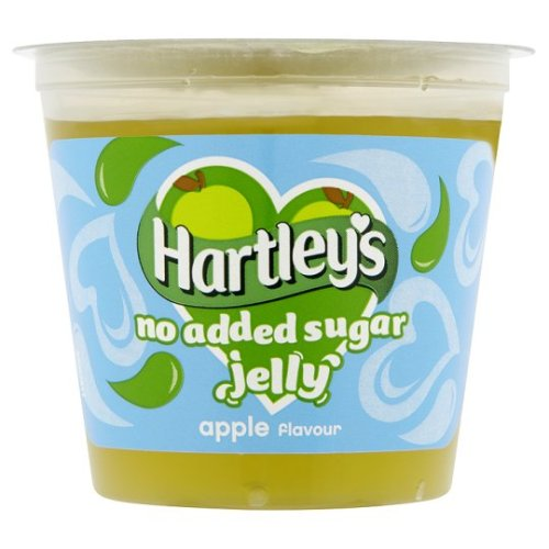 Hartleys Ready To Eat Apple No Added Sugar Jelly 115G