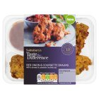 Sainsbury's Red Onion & Courgette Bhajia, Taste the Difference 210g