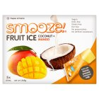 Smooze! Fruit Ice Pops Coconut + Mango 5x65ml