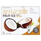 Smooze! Fruit Ice Pops Simply Coconut 5x65ml