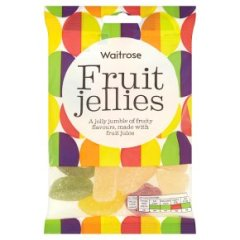 Waitrose fruit jellies 225g