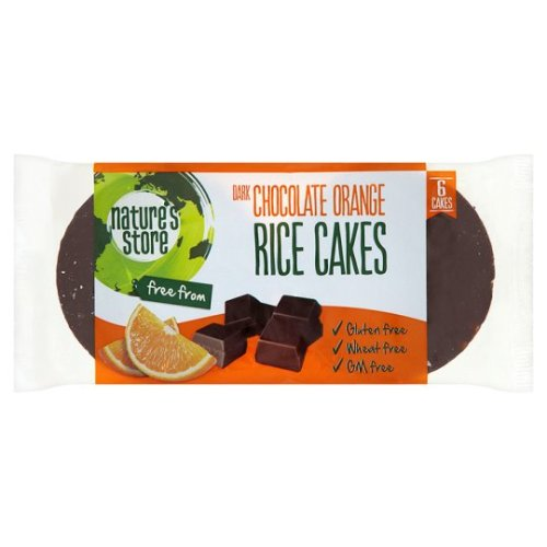 N:Store Free From Chocolate And Orange Rice Cake 100G