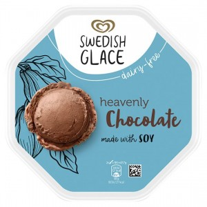 Swedish Glace Chocolate Non Dairy Ice Cream 750Ml