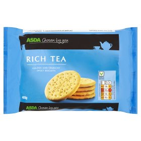 ASDA Chosen By You Rich Tea Biscuits