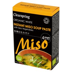 Clearspring white miso soup paste 4x15g
