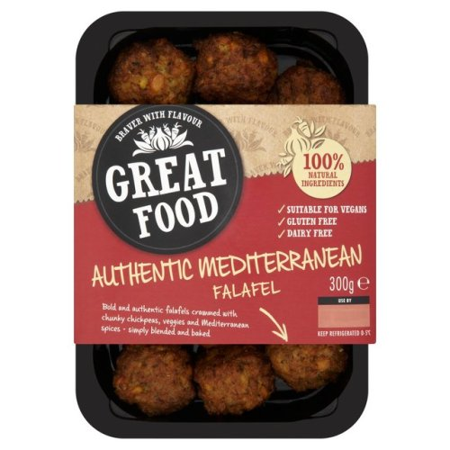 Great Food Mediterranean Falafel 300g