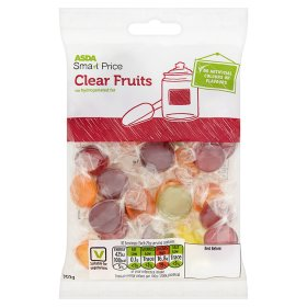 1ASDA SmartPrice Clear Fruits