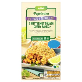 ASDA Vegetarian 2 Butternut Squash Curry Bakes