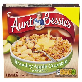 Aunt Bessie's Perfect for 2 Bramley Apple Crumble