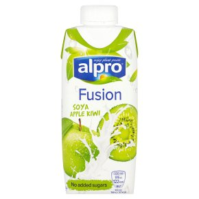Alpro Fusion soya, apple & kiwi 330ml