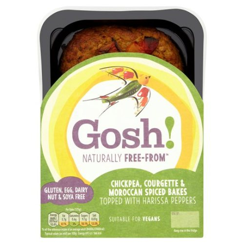 Gosh! Chickpea Courgette Moroccan Spiced Bake 250G