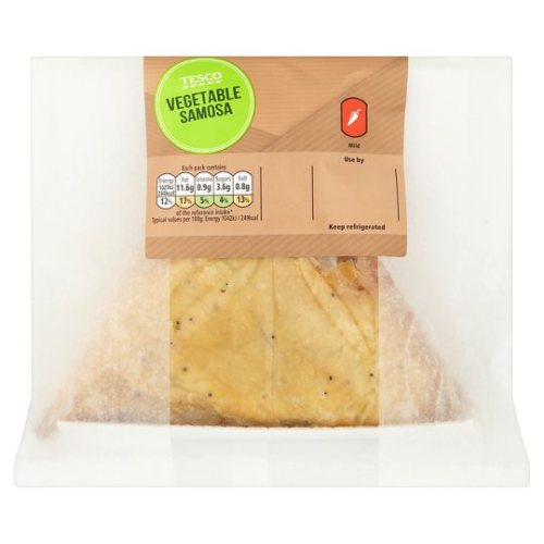 Tesco Extra Large Vegetable Samosa 98G