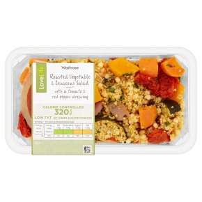 Waitrose LoveLife Calorie Controlled roasted vegetable & couscous salad 280g
