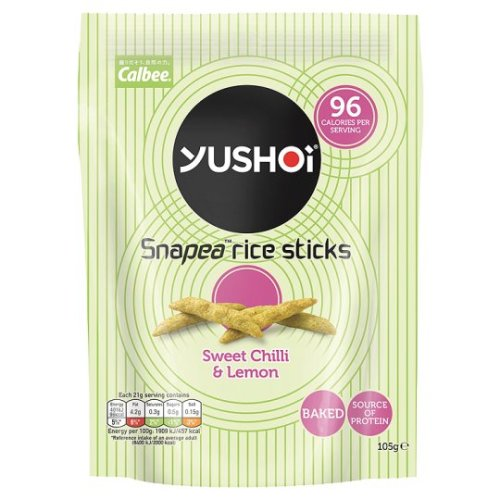 Yushoi Snapea Sweet Chilli And Lemon Rice Sticks 105G
