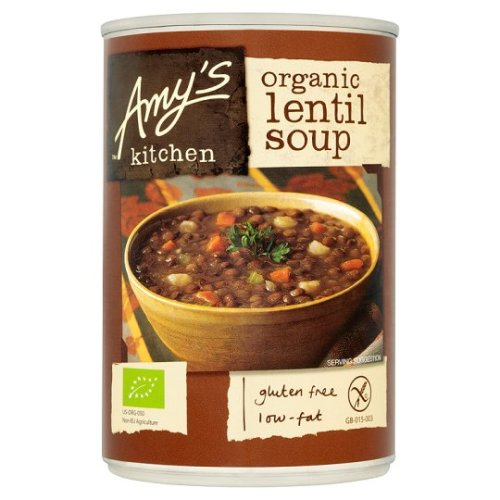 Amy's Kitchen Lentil Soup 400G