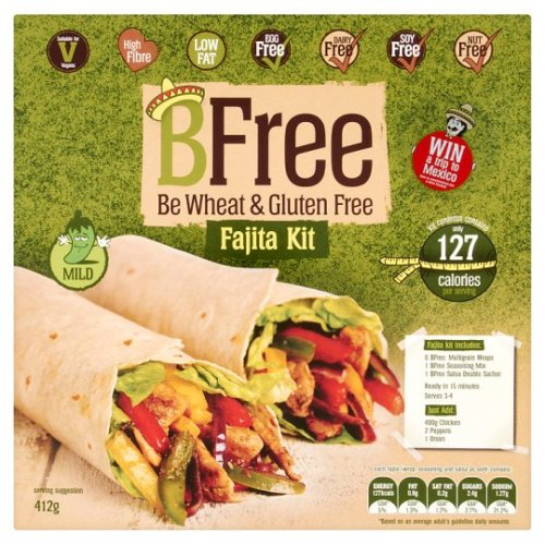 Bfree Fajita Kit Allergen Free 412G