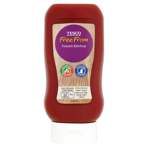 Tesco Free From Tomato Ketchup 460G