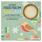 sainsburys-deliciously-freefrom-iced-mince-pies-x4-225g