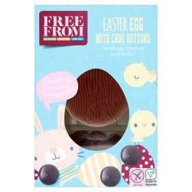 ASDA Easter Egg with Choc Buttons