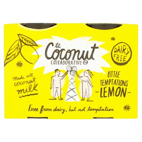 Coconut Collaborative Lemon Pot Dairy Free 45G 4 Pack
