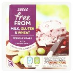 tesco free from wensleydale with cranberries