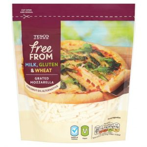 Tesco Free From Grated Mozzarella
