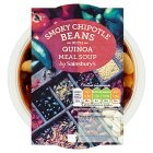 Sainsbury's Smokey Chipotle Beans with Quinoa Soup 400g