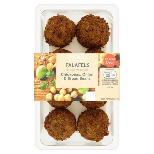Tesco Plain Falafel 152G