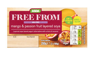 Asda vegan products archives my vegan supermarket asda free from mango passion fruit layered soya desserts negle Images