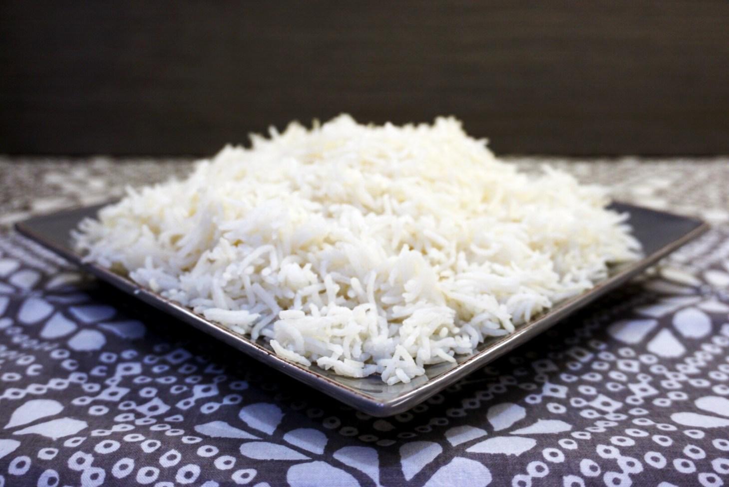 Perfect Basmati Rice Rice Cooker or Stovetop One Pot Vegetarian Gluten Free #myvegetarianfamily