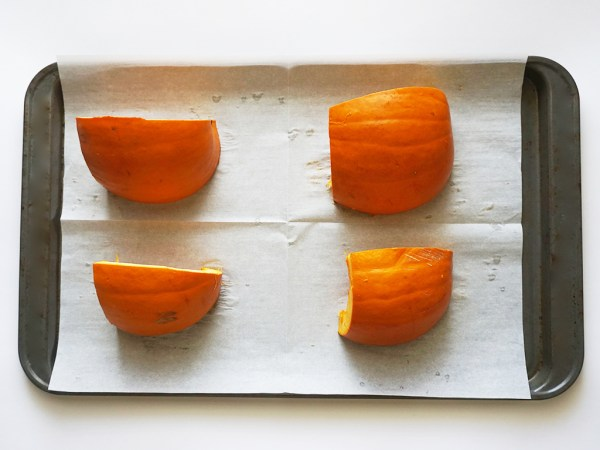 oven roasted pumpkin puree